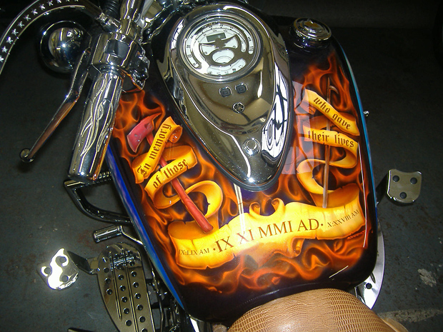 9-11 Tribute Motorcycle
